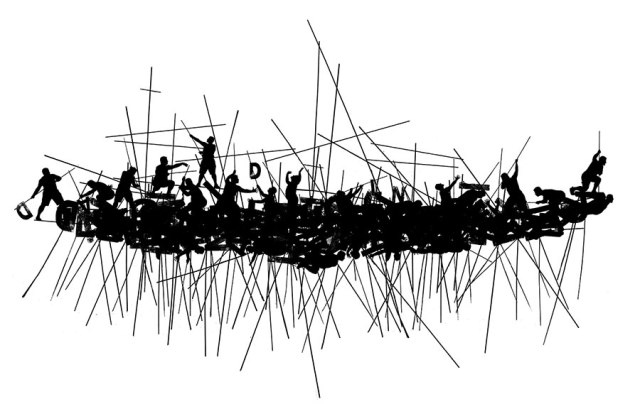Nostos, 2013, 67x106 cm, Yuval Yairi