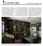 Agnon's Library in The New-Yorker, Nov. 7,2011