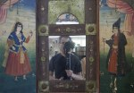 self-portrait in Persian mirror / Yuval Yairi 2014