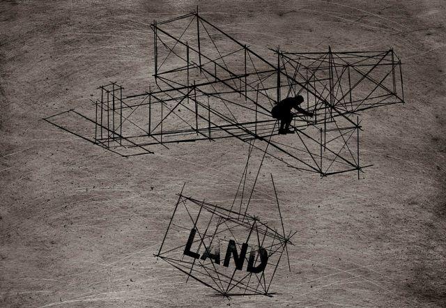 Glider, 2013, 55.3x77cm