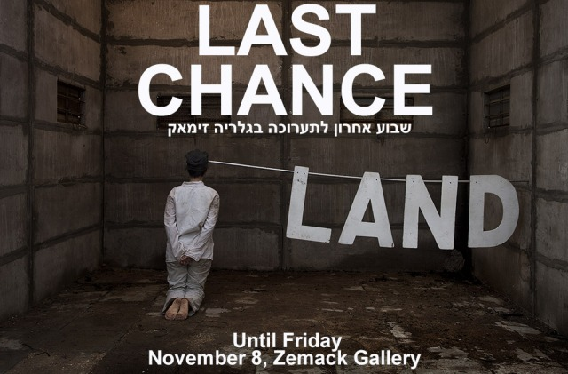 LAND: Last Chance, at Zemack Gallery, TLV until Nov. 8, 2013