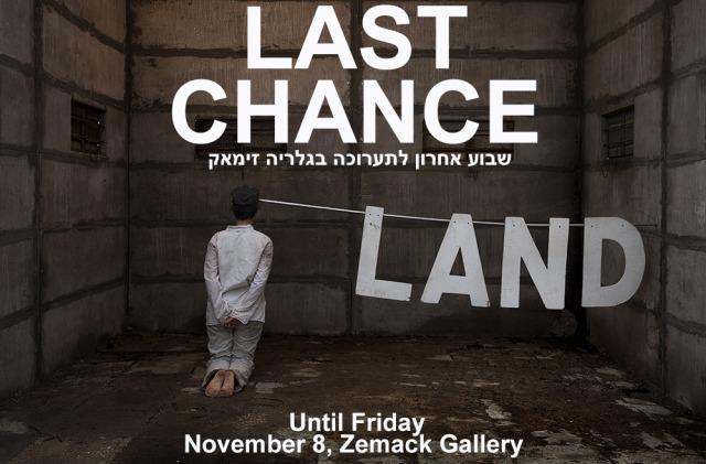 LAND: Last Chance, at Zemack Gallery, TLV until Nov. 8, 2013