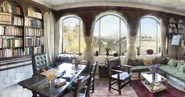 André Chouraqui's Study Room, Yuval Yairi, 2014