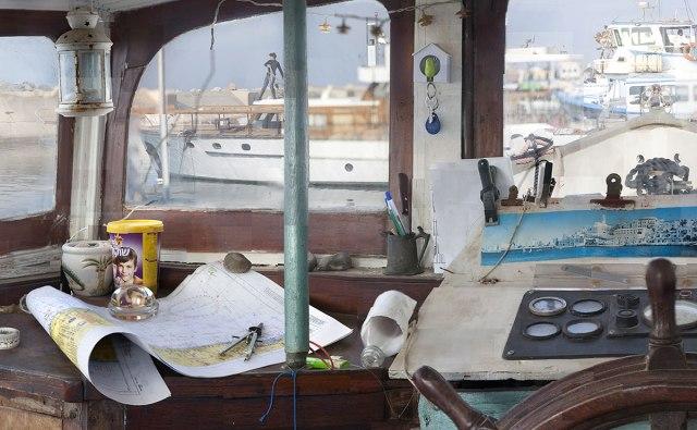 Boat (detail), Yuval Yairi