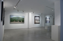 Yuval Yairi I Surveyor I Installation view I (from left to right) Surveyor I Topographic Study I Eastern Gust