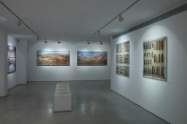 Yuval Yairi I Surveyor I Installation view (from left to right) Survey #3 I Survey #2