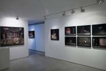Yuval Yairi I Surveyor I Installation view I (from left to right) Banana I Self Portrait I Clamp I 6 Codes